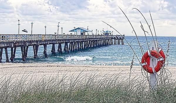 Blustery Beach Day by Chrystyne Novack