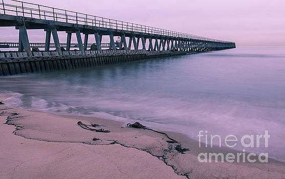 Blyth Beach and Pier #2 by John Cox