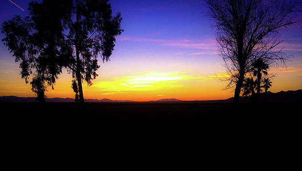 Blythe Sunset by Peter Wilson