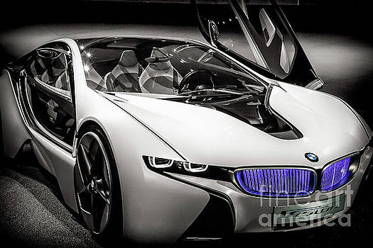 BMW I8 vision VL Efficent Dynamics BW by Stefano Senise