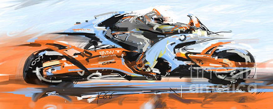 BMW racer by Peter Fogg