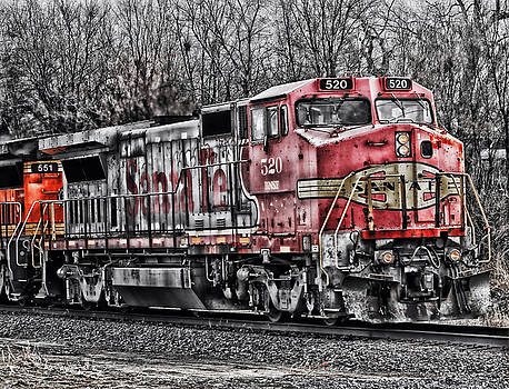 Bnsf 520 by Steve ODonnell
