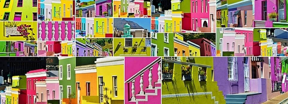 Bo Kaap Collage by Werner Lehmann