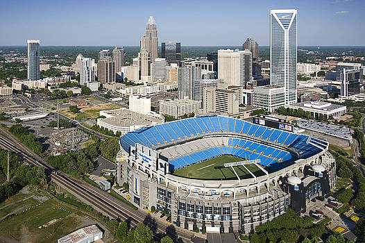 BOA Stadium in Charlotte by Clear Sky Images