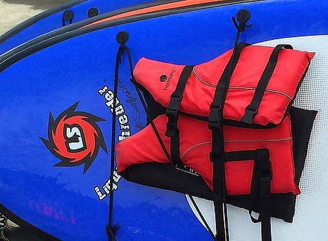 Art Block Collections - Board and Life Jacket