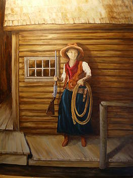 Boardwalk Cowgirl by Sharon Tabor