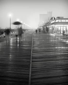 Boardwalk Fog #1 by Eric J Carter