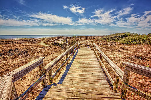 Debra and Dave Vanderlaan - Boardwalk into the Sand Dunes