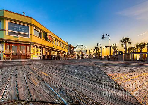 Boardwalk Sunrise by Matthew Trudeau