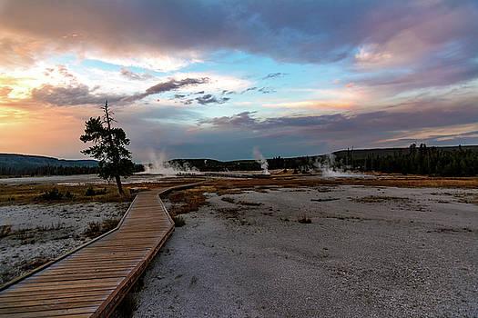 Boardwalks, Sunsets and Hotsprings by Jeremy Clinard