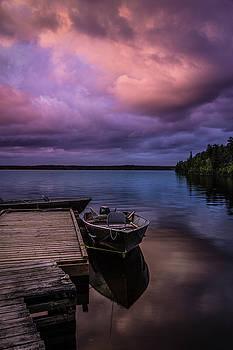 Rick Strobaugh - Boat Dock at Sunrise