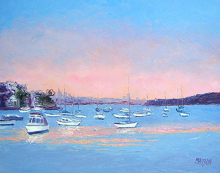 Jan Matson - Boat Haven at Manly Cove