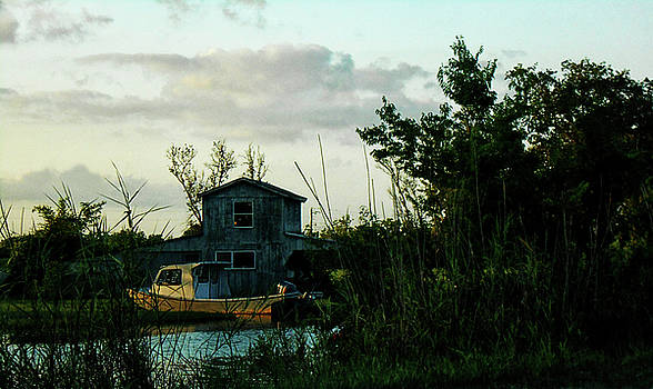 Boat House by Cynthia Powell