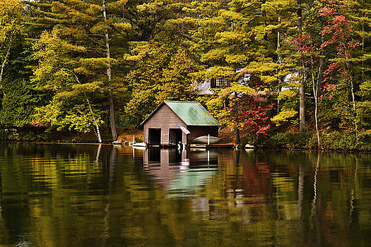 Boat House by David Simons