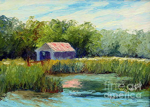Boat House by Patricia Huff