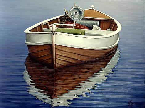 Boat by Natalia Tejera