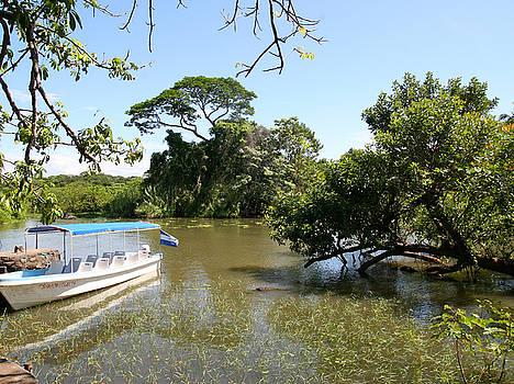 Jesus - Boat on Lake Nicaragua