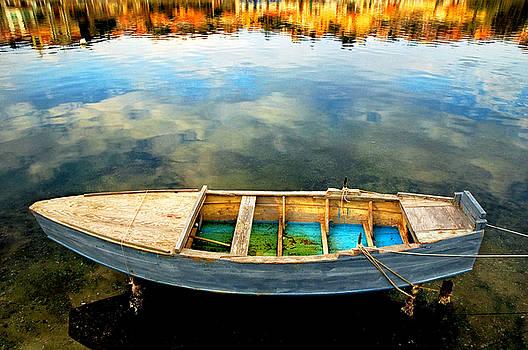 Silvia Ganora - Boat on lake