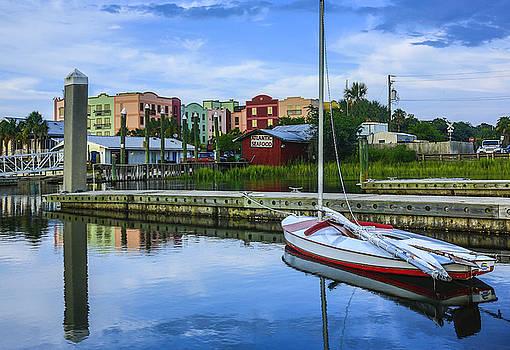 Paula Porterfield-Izzo - Boat reflections of Fernandina Beach