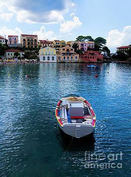 Boat to Assos by Gillian Singleton