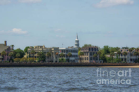 Boat View of the Charleston Battery by Dale Powell