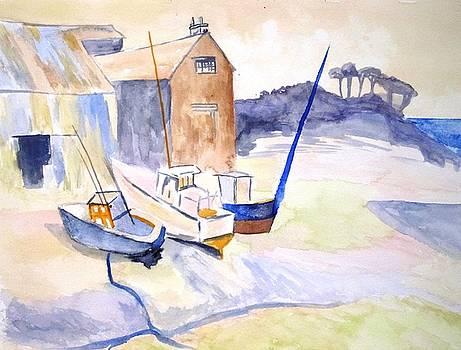 Boat Yard by Tara Bennett