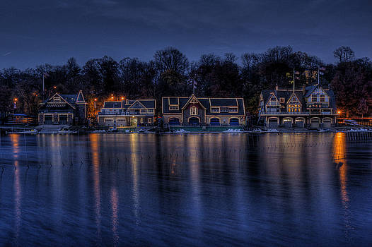 Boathouse Row by Gerry Mann