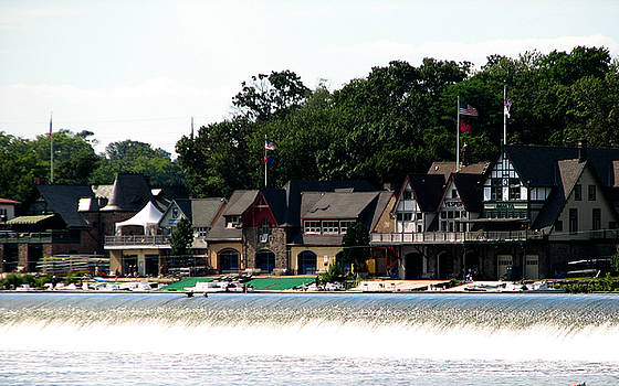 Boathouse Row Philadelphia by Christopher Woods