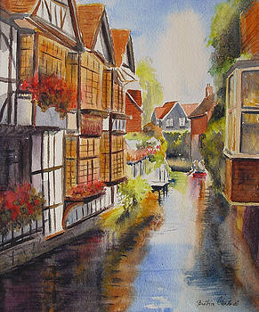 Boating in Canterbury by Beatrice Cloake