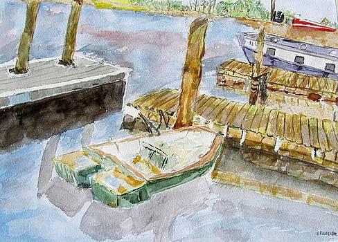 Boats at Noon  by Barbara Pearston