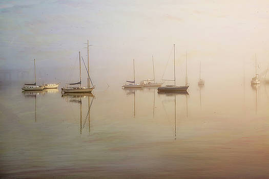 Boats at Rest by Nancie Rowan