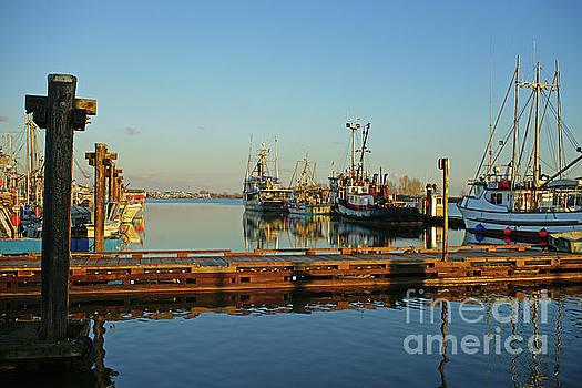 Boats at the Docks by Randy Harris
