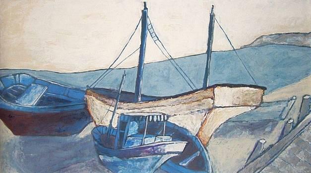 boats II by Vladislav Ivanov