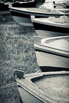 Silvia Ganora - Boats in a row