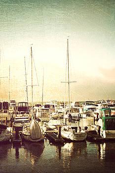 Boats in Harbor by Ken Reardon