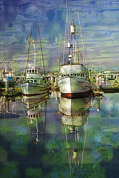 Boats in the Harbor by Ron Hoggard