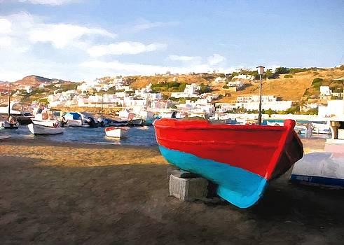 Mel Steinhauer - Boats Of Mykonos