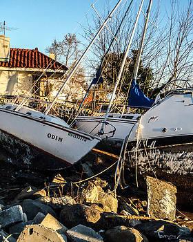 Boats of Sandy by Tammy Kuiper