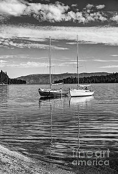 Jamie Pham - Boats on a beautiful calm day in Lake Tahoe.