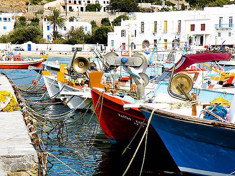 Boats on Parthos by Stacey Granger