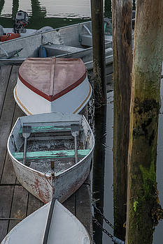 Boats on the Docks by Jesse MacDonald
