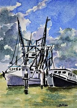 Boats on the Halifax 7-6-17 by Julianne Felton