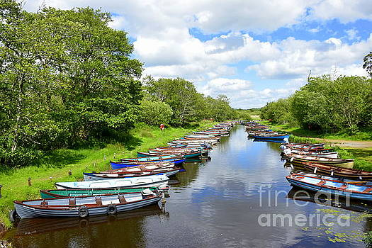 Joe Cashin - Boats on The lakes of Killarney