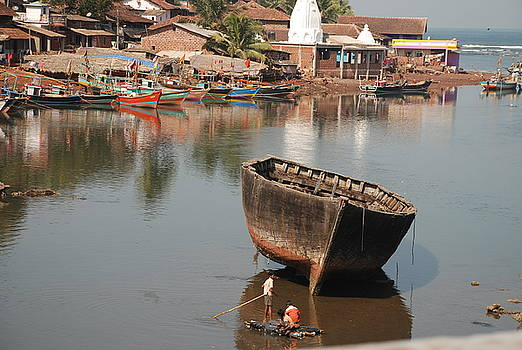 Boatwork by Deepak Prasher