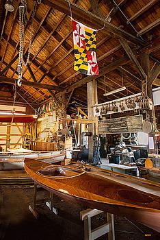 Dana Sohr - Boatworks - Chesapeake Maritime Museum