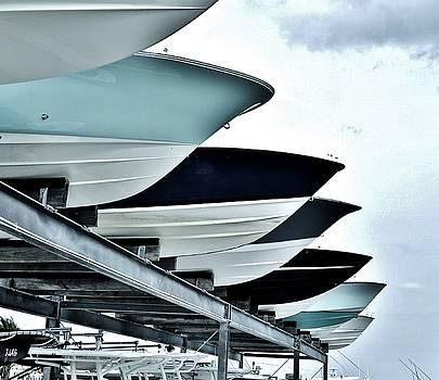 Boatyard, Tiki 52 by John Wartman