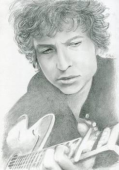 Bob Dylan by Bitten Kari