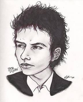 Bob Dylan by Elliott Danger James