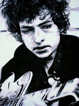Bob Dylan by Hood alias Ludzska