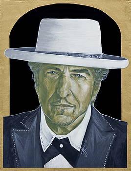 Bob Dylan by Jovana Kolic